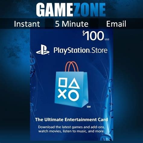 playstation network 100 usd code 100 dollar psn store card ps4 ps3 psp usa ebay - Playstation 100 Dollar Gift Card
