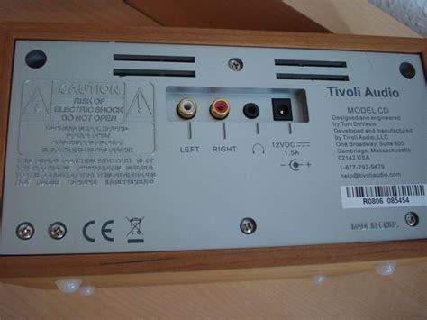 Tivoli Model Cd Player