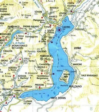 Iseo Lago Hotel Iseo Italy Europe map of lake iseo www iseosee info lake iseo in