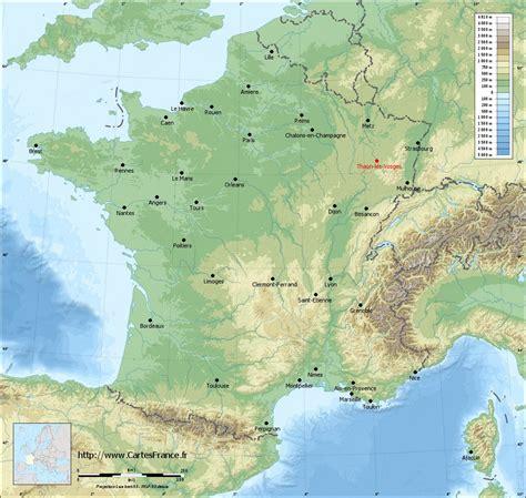 CARTE THAON LES VOSGES : cartes de Thaon les Vosges 88150
