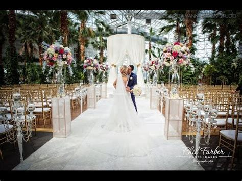 Crystal Gardens at Navy Pier Wedding Decor & Floral   YouTube