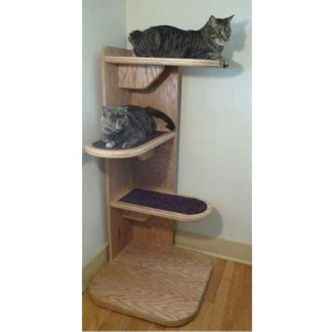 contemporary cat tree corner contemporary cat tree for large cats