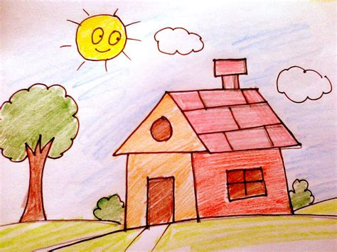 draw your home how to draw a house for