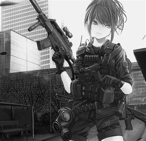 anime soldier girl wallpaper anime military girl google search anime girls with