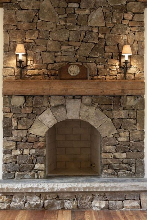 rustic stone fireplaces 25 best ideas about rustic fireplaces on pinterest