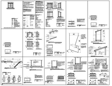 4x8 Shed Plans Free by 4x8 Lean To Storage Shed Plans They From The 4x8 Lean To