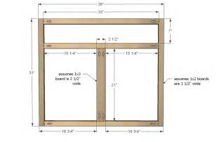 kitchen cabinet frame ana white kitchen cabinet sink base 36 full overlay face
