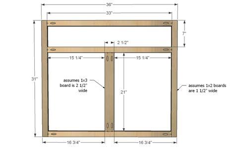 kitchen cabinet patterns woodworking plans
