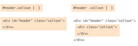 difference between div and section multiple class id and class selectors css tricks