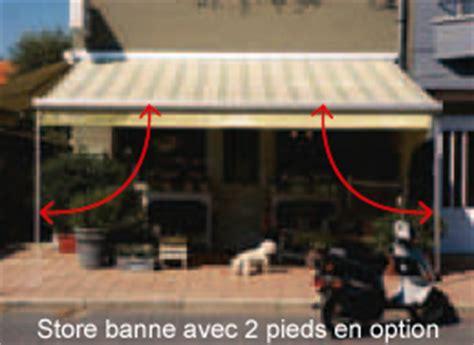 Store Banne Sur Pied 7723 by Comment Fixer Un Store Banne Sur Une Maison Ph 233 Nix
