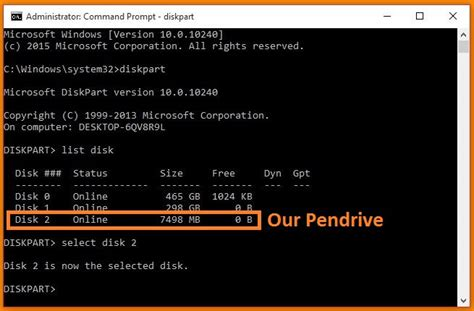 diskpart format usb bootable create a bootable usb pendrive by using cmd command prompt