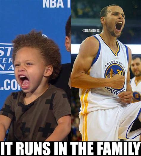 Steph Curry Memes - nba memes on twitter quot steph curry and his daughter riley