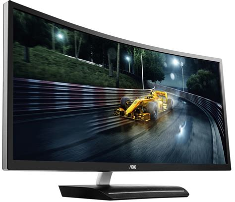 Monitor Gaming Curved aoc s 144hz 35 inch curved gaming monitor lands in the u s