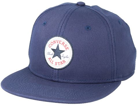 Topi Cap Converse Navy Black Hat navy 2 snapback converse caps hatstore co uk