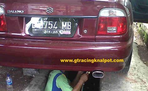 Knalpot Mobil Bolt On Honda All New Civic modifikasi knalpot racing knalpot racing mobil baleno bersuara bass bulat