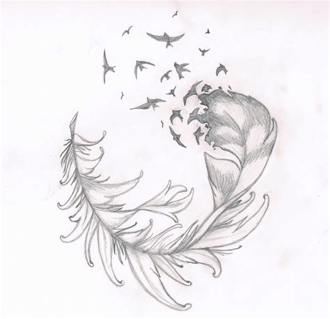 tattoo feather drawing feather tattoo by suigenerissoul on deviantart
