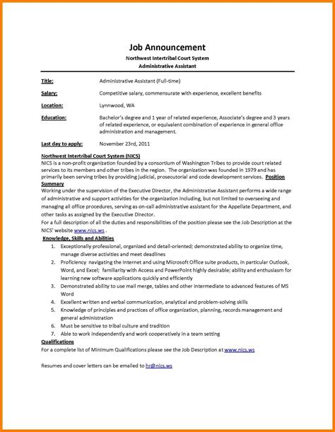 Job Description Template Description Template