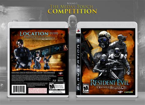 Ps3 Resident Evil Operation Racoon City resident evil operation raccoon city playstation 3 box