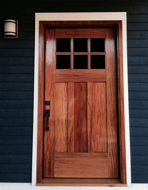 Handmade Wooden Doors - canadian wood craftsman custom wood doors produced in