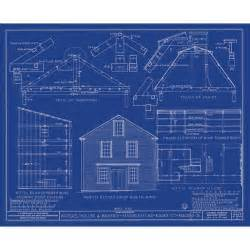 Blueprint For House art blueprint plans architecture gambrel roof water house roof house
