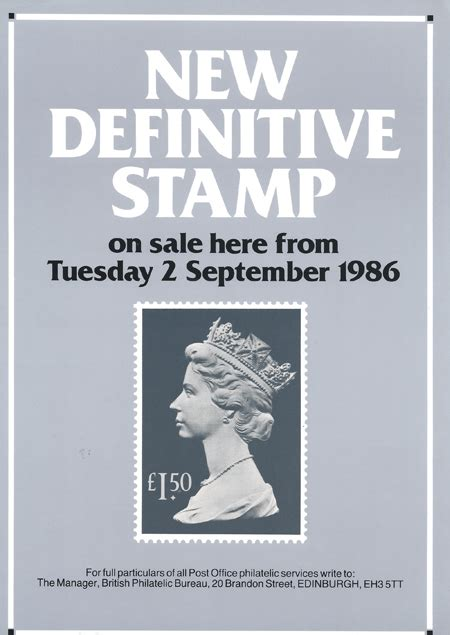 Gb New High Value Definitive 17 Sept 1985 Fd Cover definitive high value 1986 collect gb sts