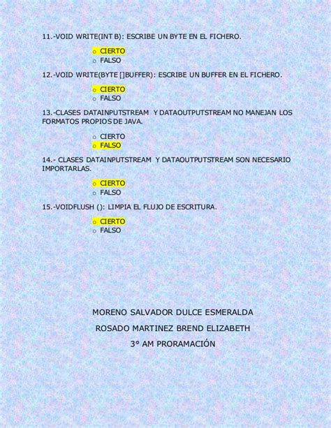 preguntas sobre java preguntas sobre la introducci 211 n al lenguaje java