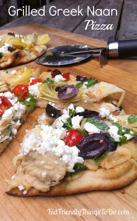 kid friendly bbq appetizers grilled naan pizzas kid friendly things to do