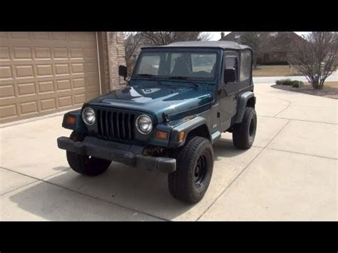 1998 Jeep Reviews 1998 Jeep Wrangler Review Tour View Walk