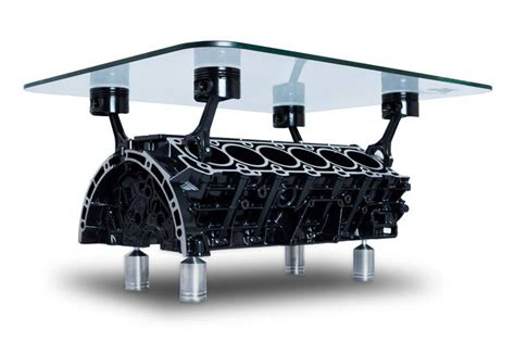 V12 Engine Coffee Table Mercedes V12 Engine Coffee Table By Engine Table Uk