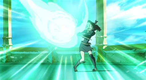 anime fantasy action amazing anime fantasy action short little witch academia