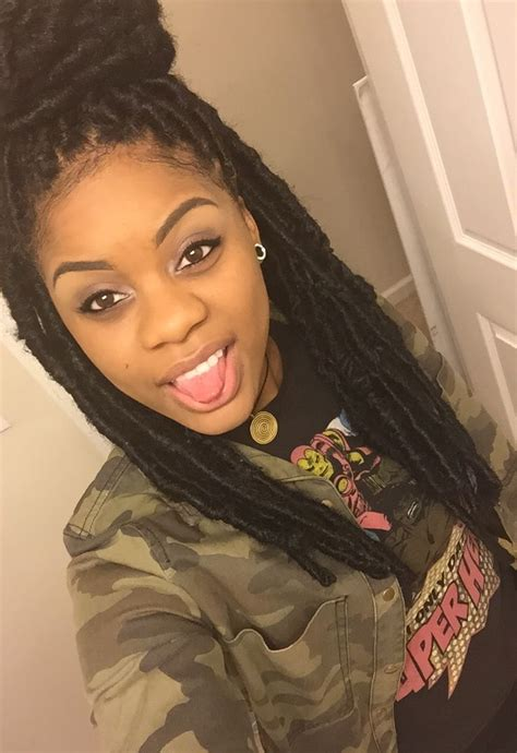 faux yarn dreads on natural hair 28 best genie locs yarn wraps obsessed images on