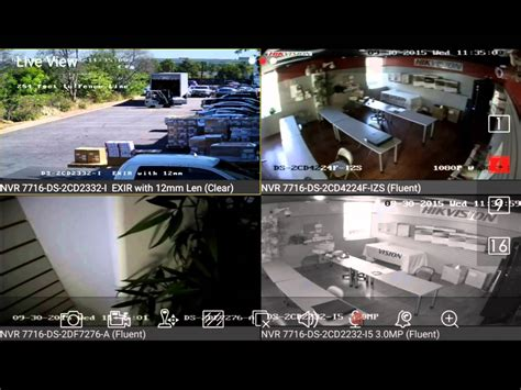 live view hikvision ivms 4500 live view demo