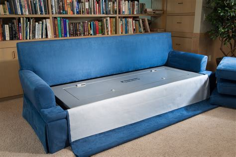 safe couch sofa gun safe the couchbunker a bulletproof couch with gun