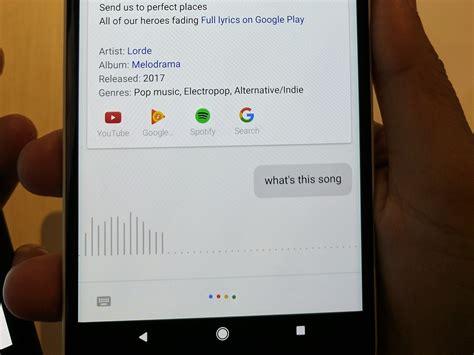 Judul Lagu assistant memiliki fitur pendeteksi judul lagu