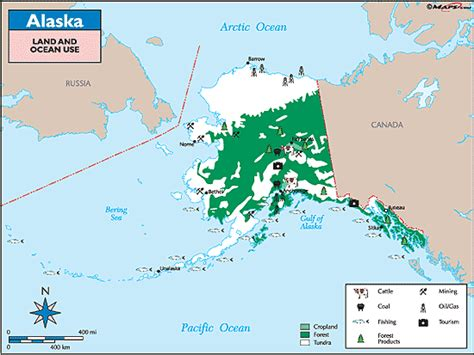 State Of Alaska Property Records Alaska Land Use Map By Maps From Maps World S Largest Map Store