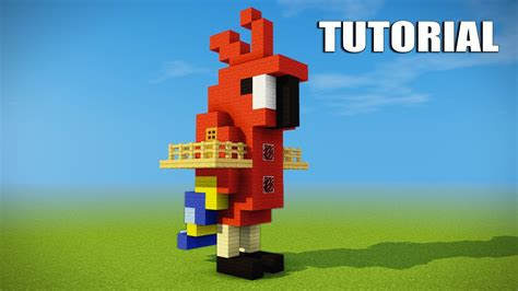 how to make a cool treehouse in minecraft minecraft tutorial how to make a parrot house cool