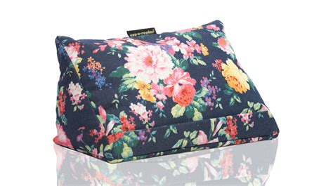 Pillows For Ipads by Cushion Navy Floral Tablet Pillow Tablet Cushion