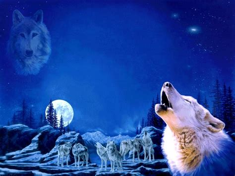 wallpaper anime pack anime wolf pack wolf pack wallpaper the beautiful and