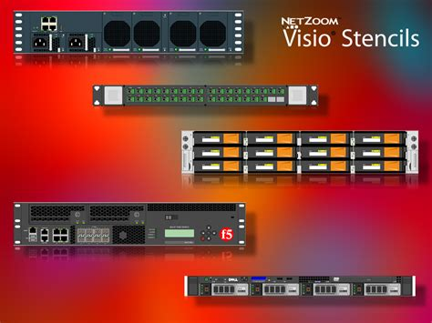 netzoom visio stencils free netzoom visio 174 stencils library updated for data center