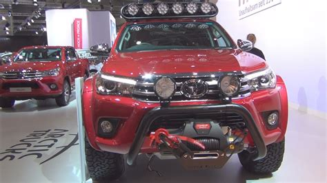 toyota hilux arctic toyota hilux arctic trucks at35 2017 exterior and