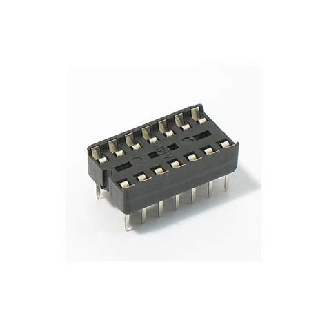what is an integrated circuit socket 14 pin ic socket 14 pin ic base buy in india robomart