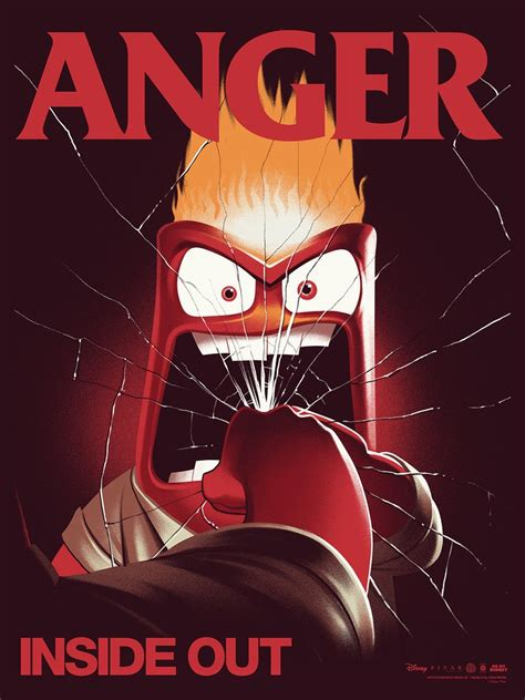 Boneka Inside Out Anger New new poster release inside out sadness anger fear disgust by mondo