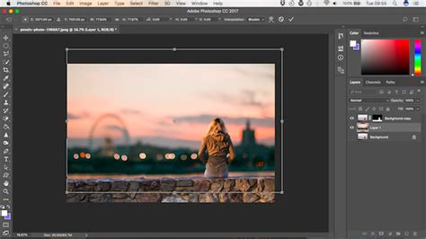 how to change the background in photoshop how to change the background of a photo in photoshop