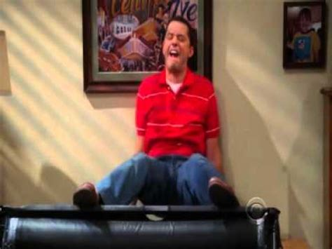two and a half men couch two and a half men alan fights with his couch youtube