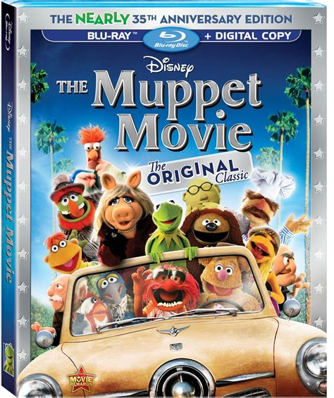 blu ray film disney film project the muppet movie blu ray review