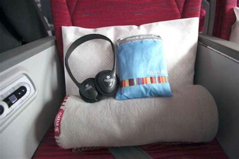 Qatar Airways Cabin Baggage by Flown Qatar Dreamliner Business Class