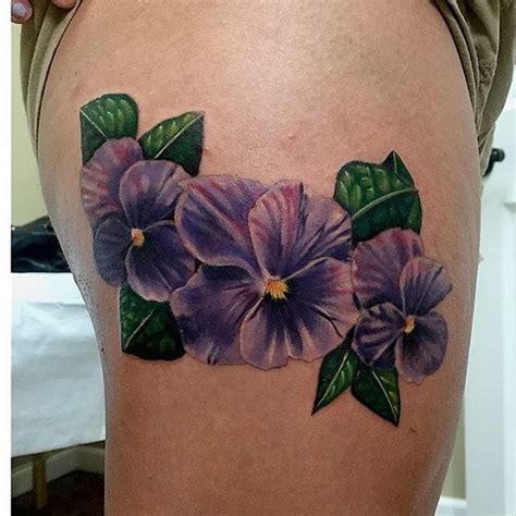 purple violet and indigo color meanings tattoo design bild vivacious violet flower tattoos tattoodo