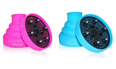Benefits Of Hair Dryer Diffuser xtava collapsible silicone hair diffuser groupon