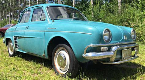 1959 renault dauphine cheap french commuter 1959 renault dauphine