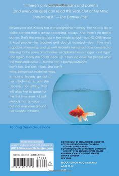out of my mind book report out of my mind on book trailers goldfish and